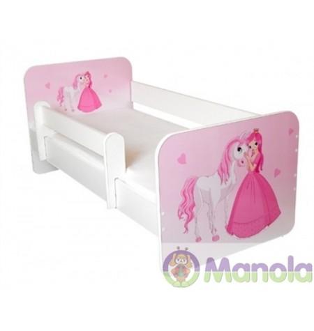 Manola B hercegnő gyerekágy levehető leesésgátlóval