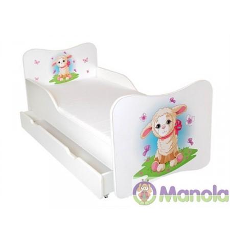 Manola A Bárány gyerekágy ágyneműtartóval