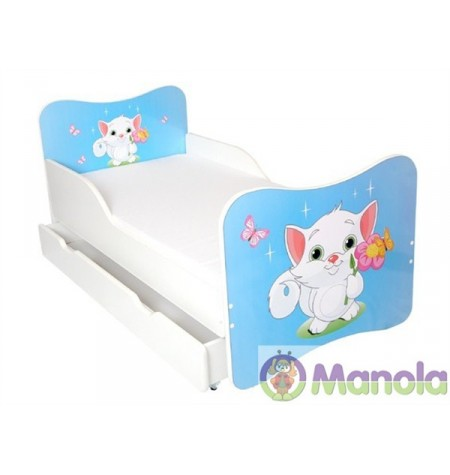 Manola A Cicó gyerekágy ágyneműtartóval