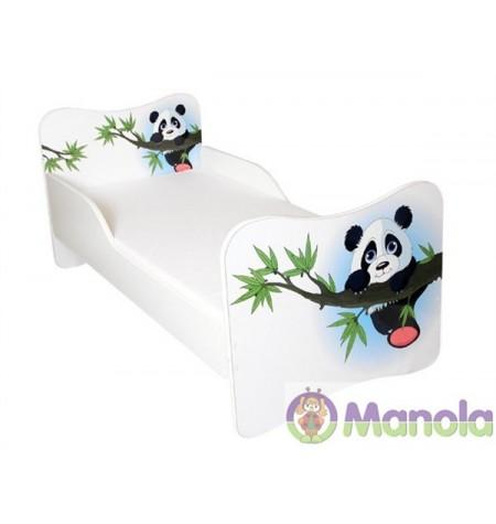 Manola Panda gyerekágy megemelt oldalfallal