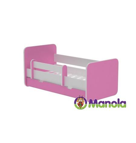 Manola C PINK prémium ágyneműtartós gyerekágy