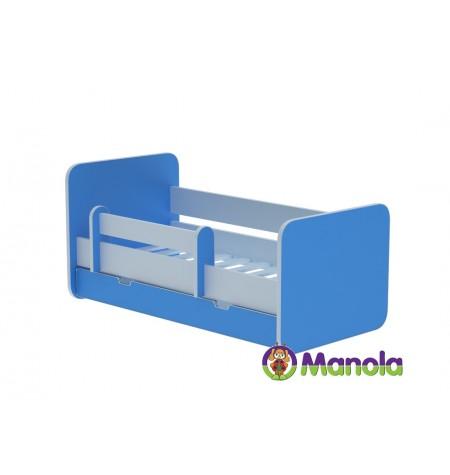 Manola C Blue prémium ágyneműtartós gyerekágy