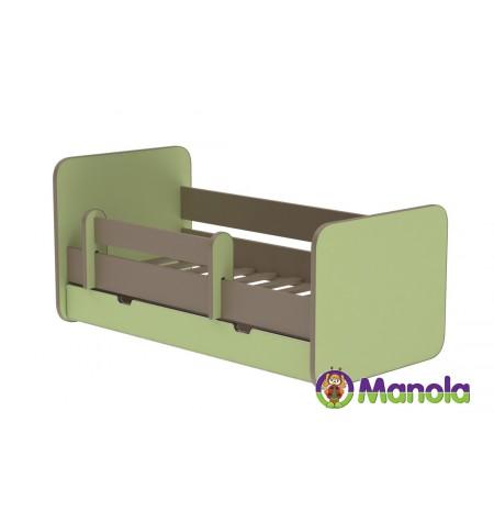 Manola C Oliva prémium ágyneműtartós gyerekágy