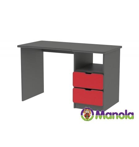 Manola C Red íróasztal