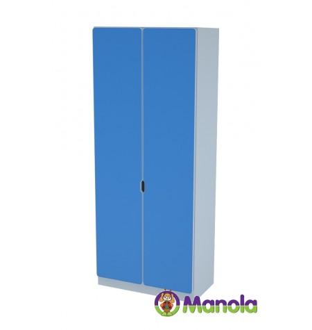 Manola C Blue TB gyerekszoba szekrény