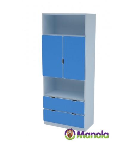 Manola C Blue MB gyerekszoba szekrény