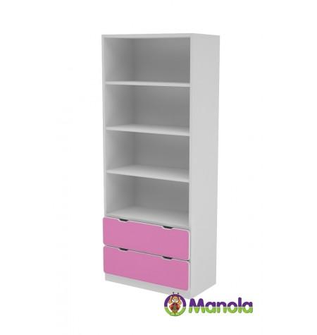 Manola C Pink SB gyerekszoba szekrény