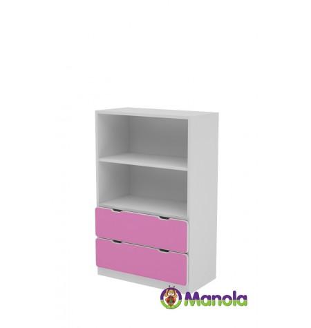 Manola C Pink SL gyerekszoba szekrény