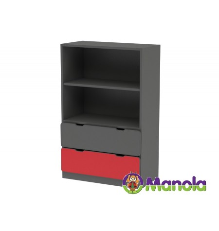 Manola C Red SL gyerekszoba szekrény