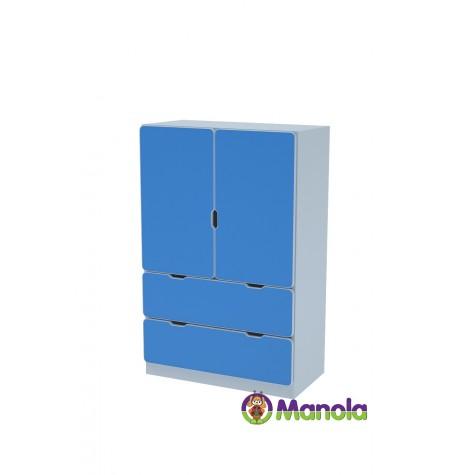 Manola C Blue UL gyerekszoba szekrény