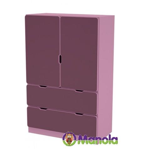 Manola C Viola UL gyerekszoba szekrény
