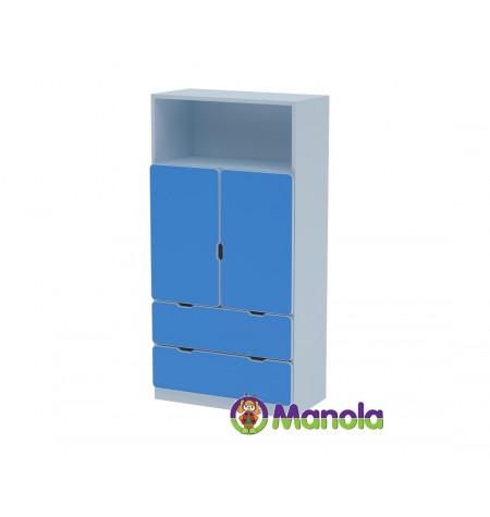 Manola C Blue DM gyerekszoba szekrény