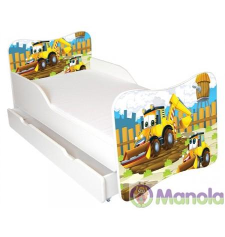 Manola A Markolós gyerekágy ágyneműtartóval