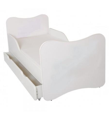 Manola A White gyerekágy ágyneműtartóval
