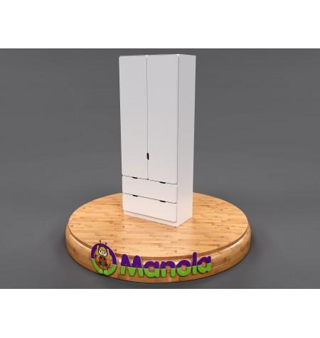 Manola D2B gyerekszoba szekrény választható mintával