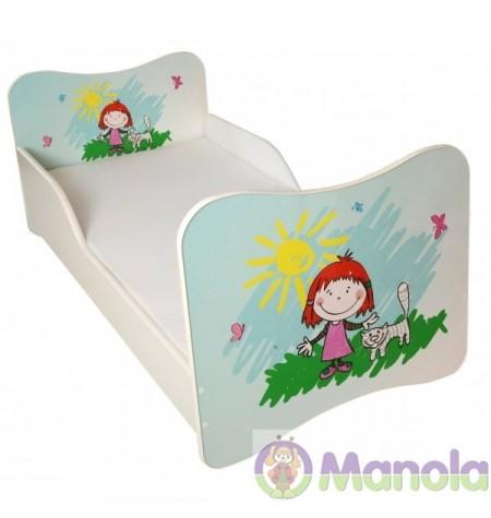 Manola Kislány gyerekágy megemelt oldalfallal
