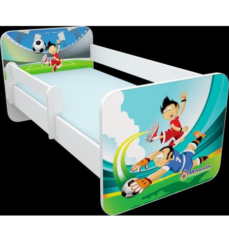Manola B foci 2 gyerekágy levehető leesésgátlóval