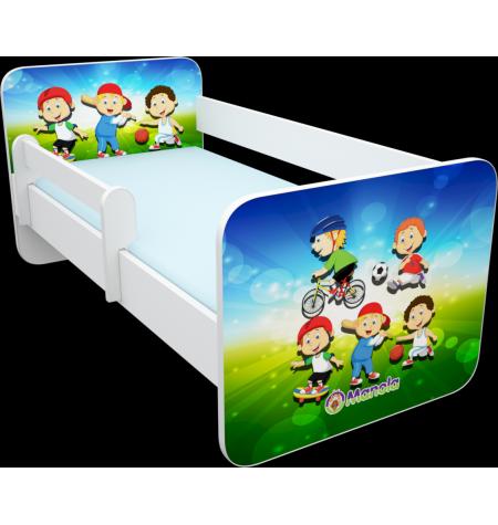 Manola B Sport gyerekágy levehető leesésgátlóval