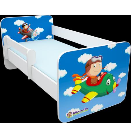 Manola B Repülős gyerekágy levehető leesésgátlóval