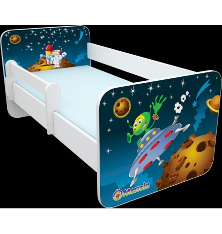 Manola B Űrhajós 2 gyerekágy levehető leesésgátlóval