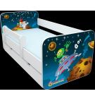 Manola B űrhajós 2 ágynemütartós gyerekágy levehetö leesésgátlóval