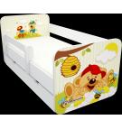 Manola B macis ágynemütartós gyerekágy levehetö leesésgátlóval