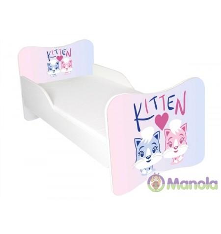 Manola Kitten gyerekágy megemelt oldalfallal
