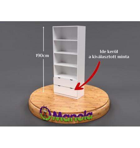 Manola SB gyerekszoba szekrény választható mintával