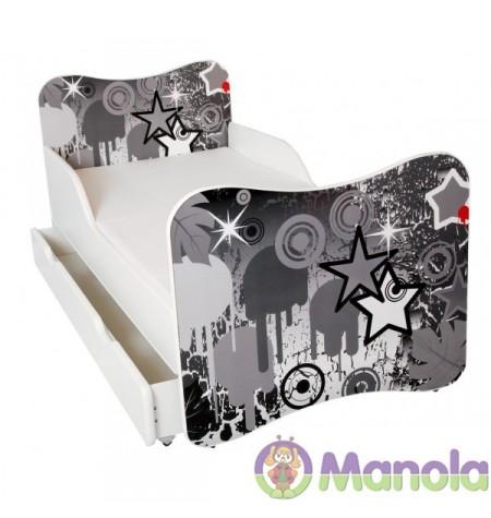 Manola A Csillag gyerekágy ágyneműtartóval