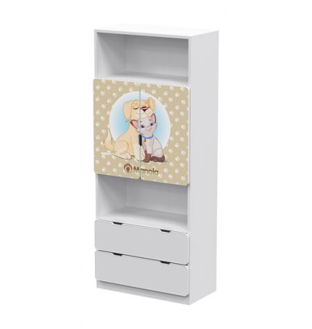 Manola MB Kutyás 5 gyerekszoba szekrény