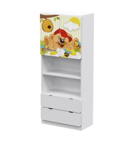 Manola UB Maci gyerekszoba szekrény