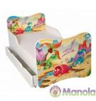 Manola A Őslény gyerekágy ágyneműtartóval