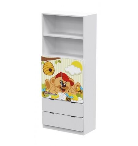 Manola DB Maci gyerekszoba szekrény