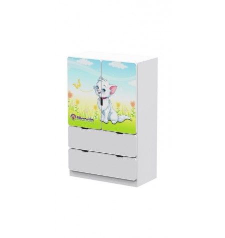 Manola UL Cica 1 gyerekszoba szekrény