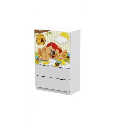 Manola UL Maci gyerekszoba szekrény