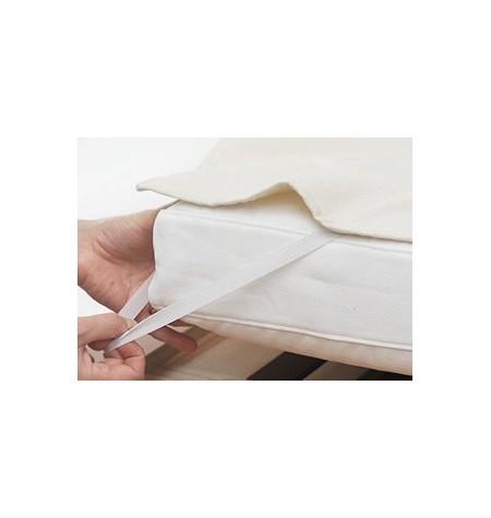 Gumis matracvédő 70x140