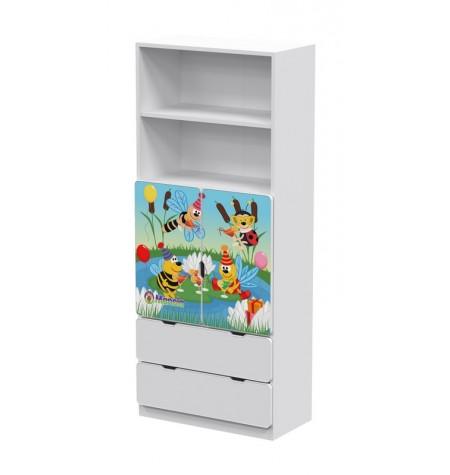 Manola DB Zümi gyerekszoba szekrény
