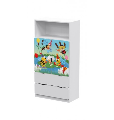 Manola DM Zümi gyerekszoba szekrény
