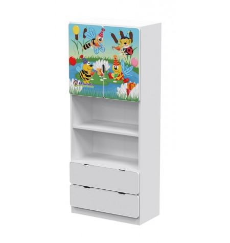 Manola UB Zümi gyerekszoba szekrény