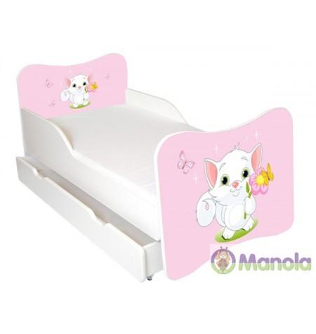Manola A Cat gyerekágy ágyneműtartóval