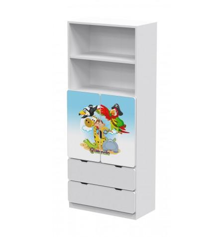 Manola DB Zoo 6 gyerekszoba szekrény