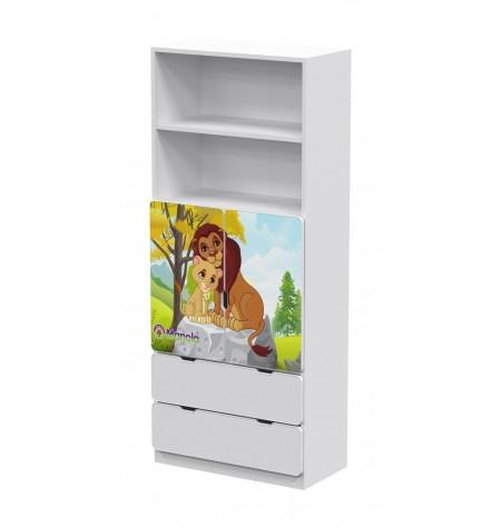 Manola DB Zoo 4 gyerekszoba szekrény