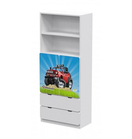 Manola DB Jeep gyerekszoba szekrény