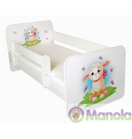 Manola B Bárány gyerekágy levehető leesésgátlóval