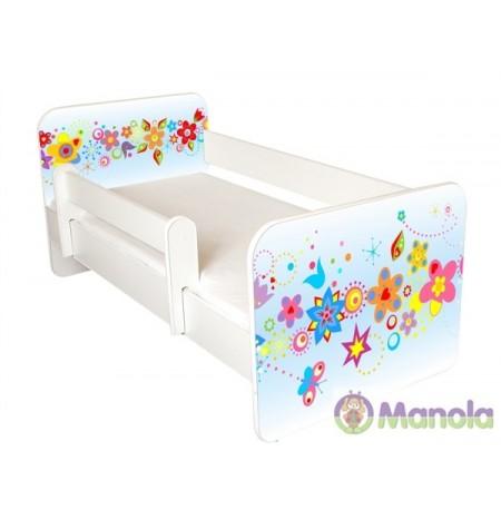 Manola B tavasz gyerekágy levehető leesésgátlóval