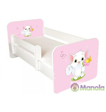 Manola B Cat gyerekágy levehető leesésgátlóval
