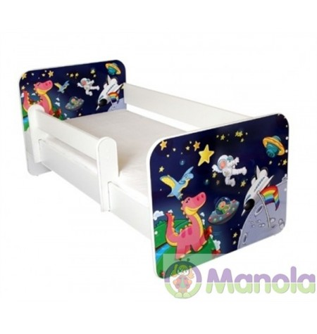 Manola B Űrhajó gyerekágy levehető leesésgátlóval