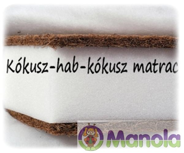 Kókusz-hab-kókusz matrac