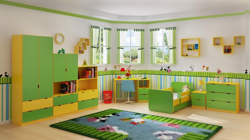 Biztonságos gyerekbútorok
