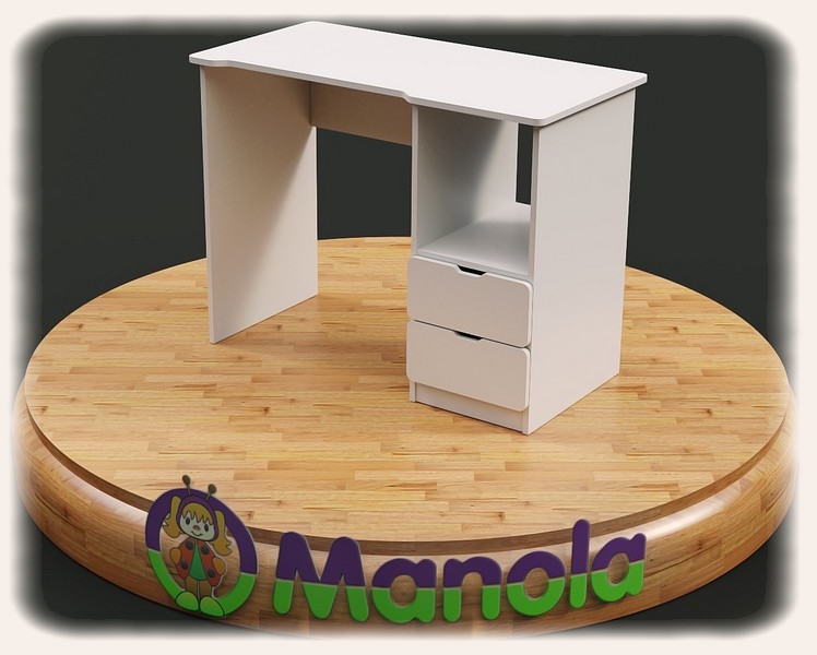 Biztonságos gyerekbútor - íróasztal